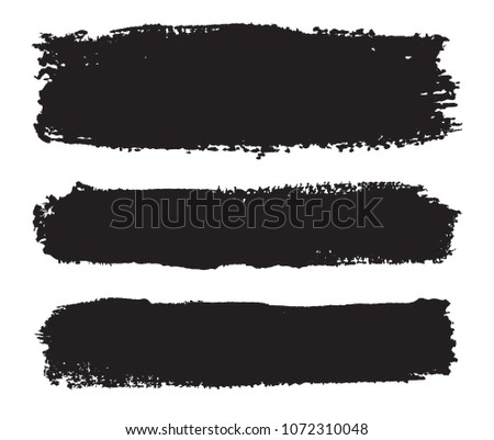 Set of grunge banners .Vector Grunge Lines.