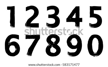 numbers download free vector art stock graphics images