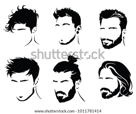 Vintage Hair Styles Download Free Vector Art Stock Graphics Images