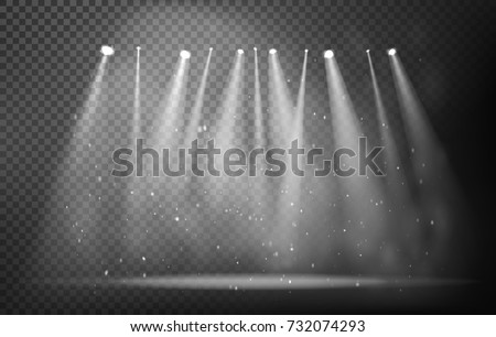 Free Stage Lights Vector From Vecteezy