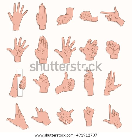 Royalty Free Touch Screen Gesture Pointer Fingers 71569324 Stock