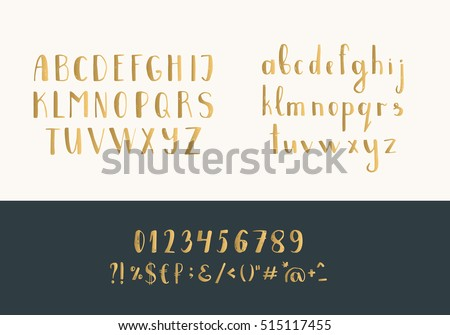 Lowercase handwritten letters vector alphabet download free vector set of handwritten gold latin letters vector script font golden alphabet isolated on background thecheapjerseys Images