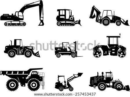 Free Construction Vehicles Vector Icons Download Free Vector Art