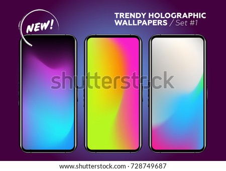 set of holographic gradients