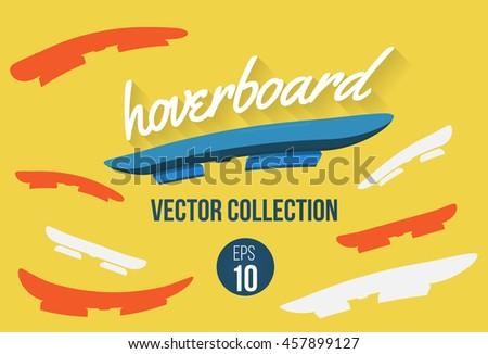 set of hoverboard shape