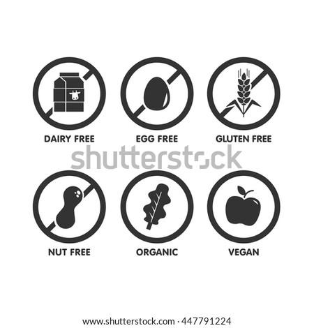 set of icons illustrating