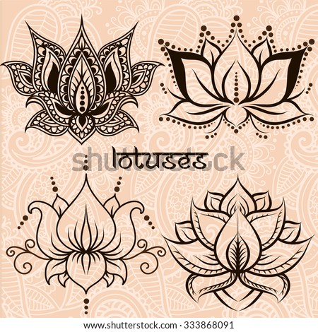 set of illustration decorative