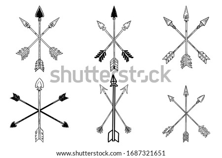 Premium Arrows Icon Download Png Crossed Arrows Clip Art Stunning Free Transparent Png Clipart Images Free Download