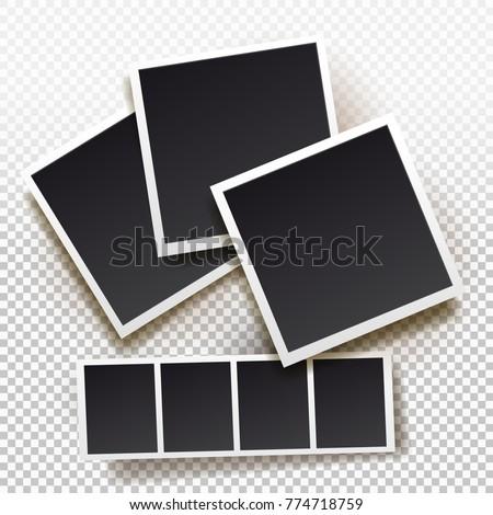 set of instant photo frame....