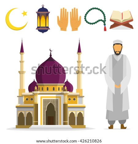 set of islamic religious