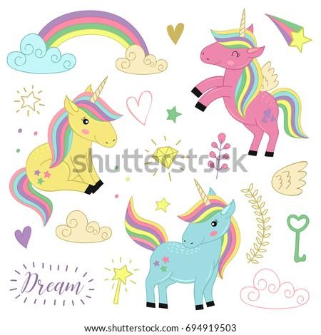 set  of isolated unicorns and elements