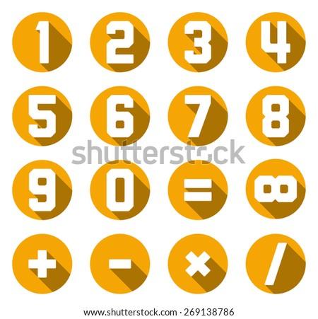 Math Vector Symbol Set Download Free Vector Art Stock Graphics