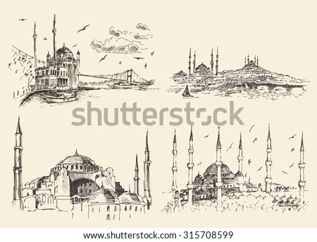 set of istanbul famous