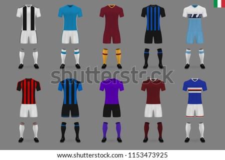set of italian football club