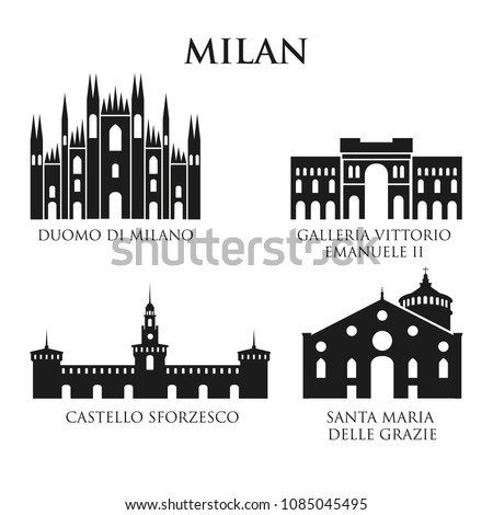 set of italy architecture