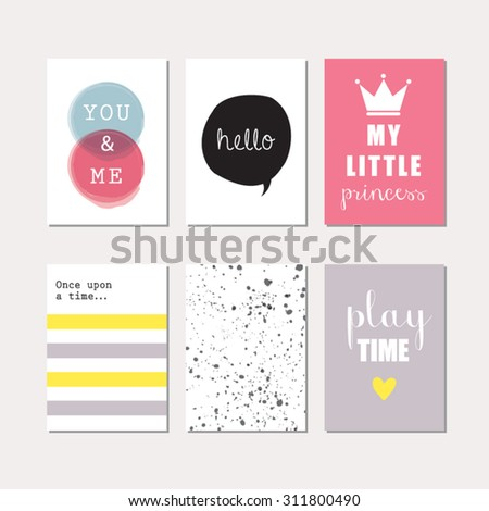 set of journaling cards for