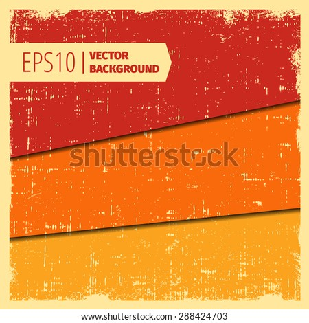 set of layered grunge vector