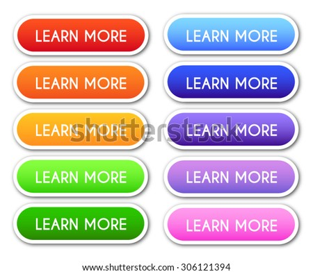 Set of 'Learn More' Buttons Stock photo ©