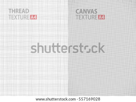 stock-vector-set-of-light-gray-white-line-vector-fabric-thread-canvas-burlap-texture-in-a-paper-size