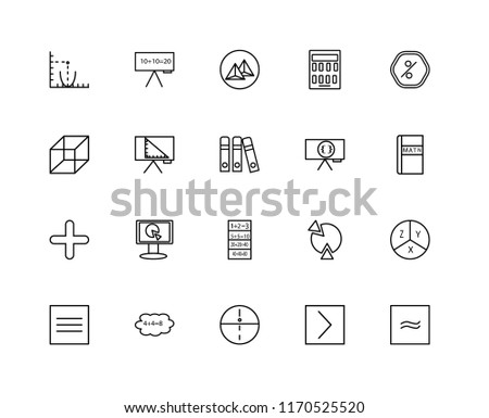 Math Symbols Free Vector Pack Download Free Vector Art Stock