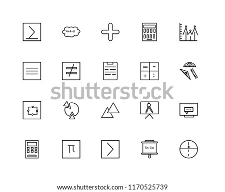 Vector Pi Symbool Pictogram Set Download Gratis Vectorkunst En