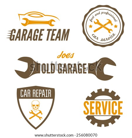 set of logo  badge  emblem and