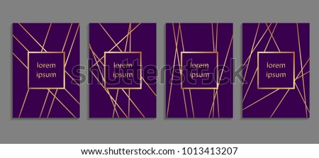 set of luxury ultraviolet cover