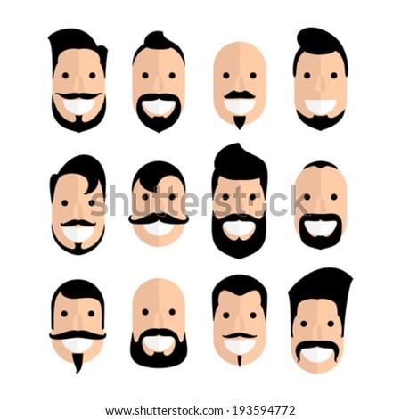 Beard With Mustache
