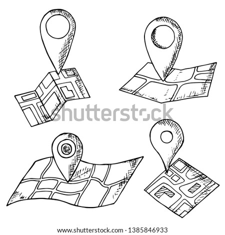 Location Marker Newest Royalty Free Vectors