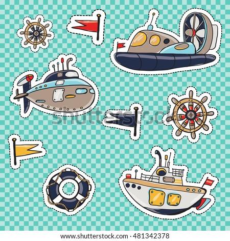 set of marine elements