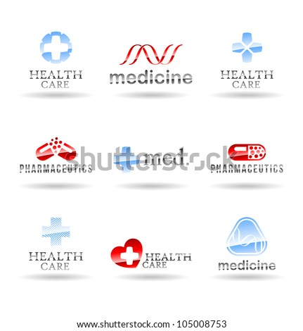 Set of medical icons. Set 3.