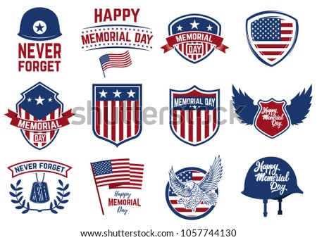 Set Of Independence Day Icons Download Free Vector Art Stock