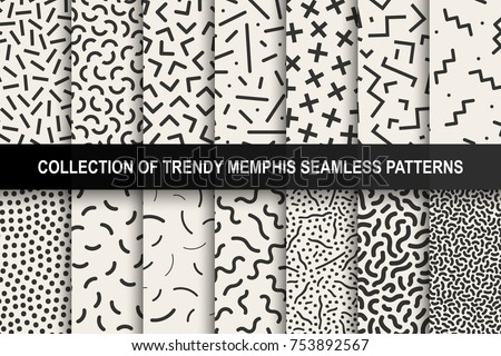 set of memphis seamless