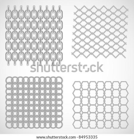 Set of metal grids