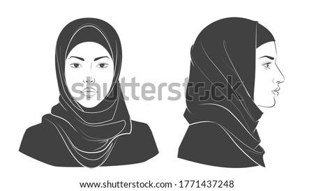 set of middle eastern arabian