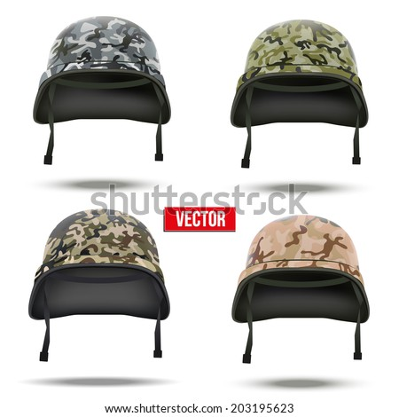 set of military camouflage