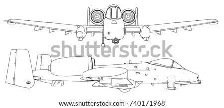 set of military jet fighter