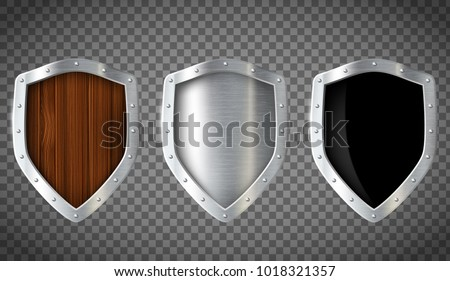 45 photoshop shields shapes free photoshop brushes at brusheezy set of military wooden and metal shield isolated on a transparent background stock vector maxwellsz