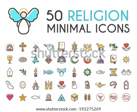 free christian religion icon vector download free vector art