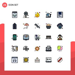 Set of 25 Modern UI Icons Symbols Signs for decryption; graphy; money; analysis; sports Editable Vector Design Elements