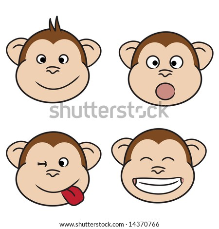 laughing face clip art. naughty and laughing