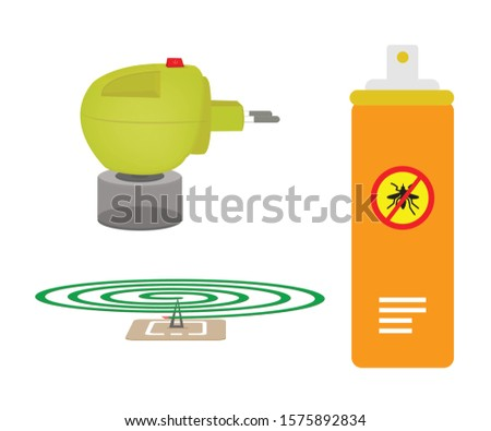 Set of Mosquito killer and spray