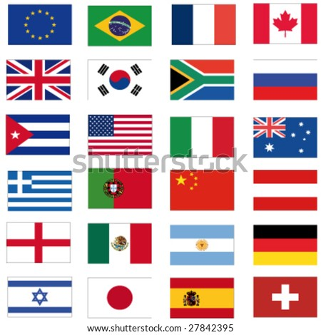 set of most important flags #27842395