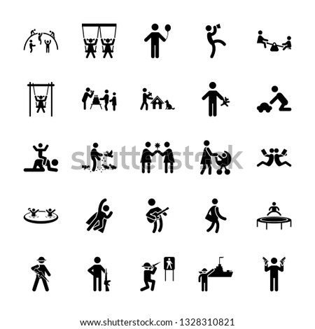 Set Of Musician Pictogram Pack