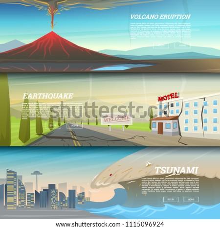 set of natural disaster or