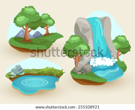set of natural scene
