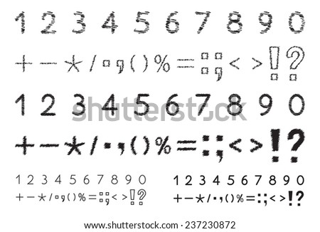 set of numbers 1  2  3  4  5  6
