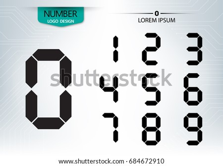 set of numbers technology is a