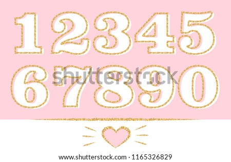 set of numbers  1 2 3 4 5 6 7 8