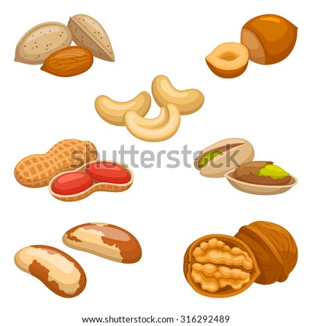 Set of nuts #316292489
